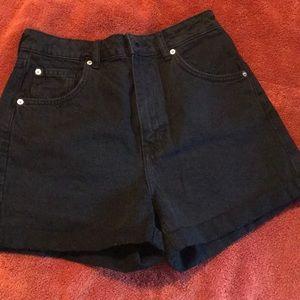 H & M mom shorts